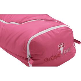 Grüezi-Bag Biopod Wool World Traveller Sacos de dormir Niños, claret red